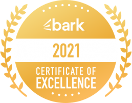 bark 2021 Certificate of Excellence
